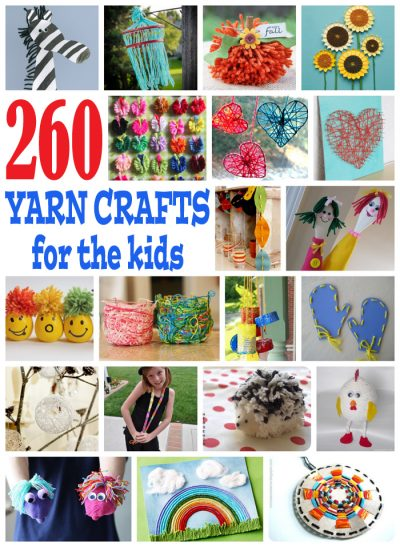 260 Yarn Crafts For Kids Fun Family Crafts