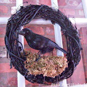 Raven Wreath