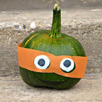 Teenage Mutant Ninja Turtle Pumpkin