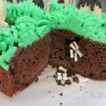 Surprise Inside Graveyard Cake