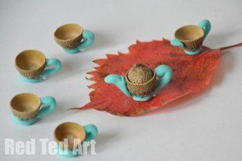 Acorn Tea Set