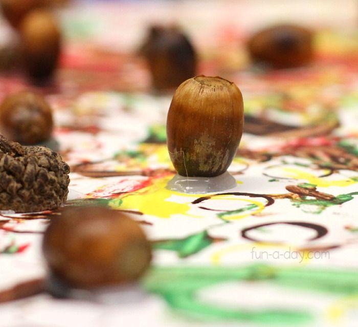 Fall Acorn Art Fun Family Crafts