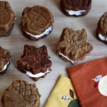 Acorn Shaped Whoopie Pies