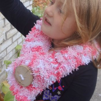 Easy Crochet Tizzy Scarf