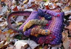 Medusa's Crochet Hand Bag