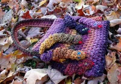 Medusa's Crochet Hand Bag