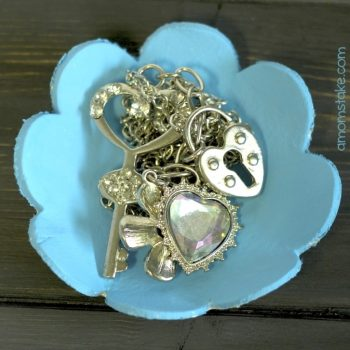 Flower Jewelry Holder