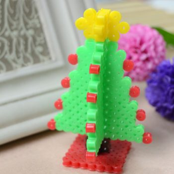 3D Perler Bead Christmas Tree