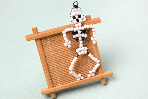 beaded skeleton fun family crafts