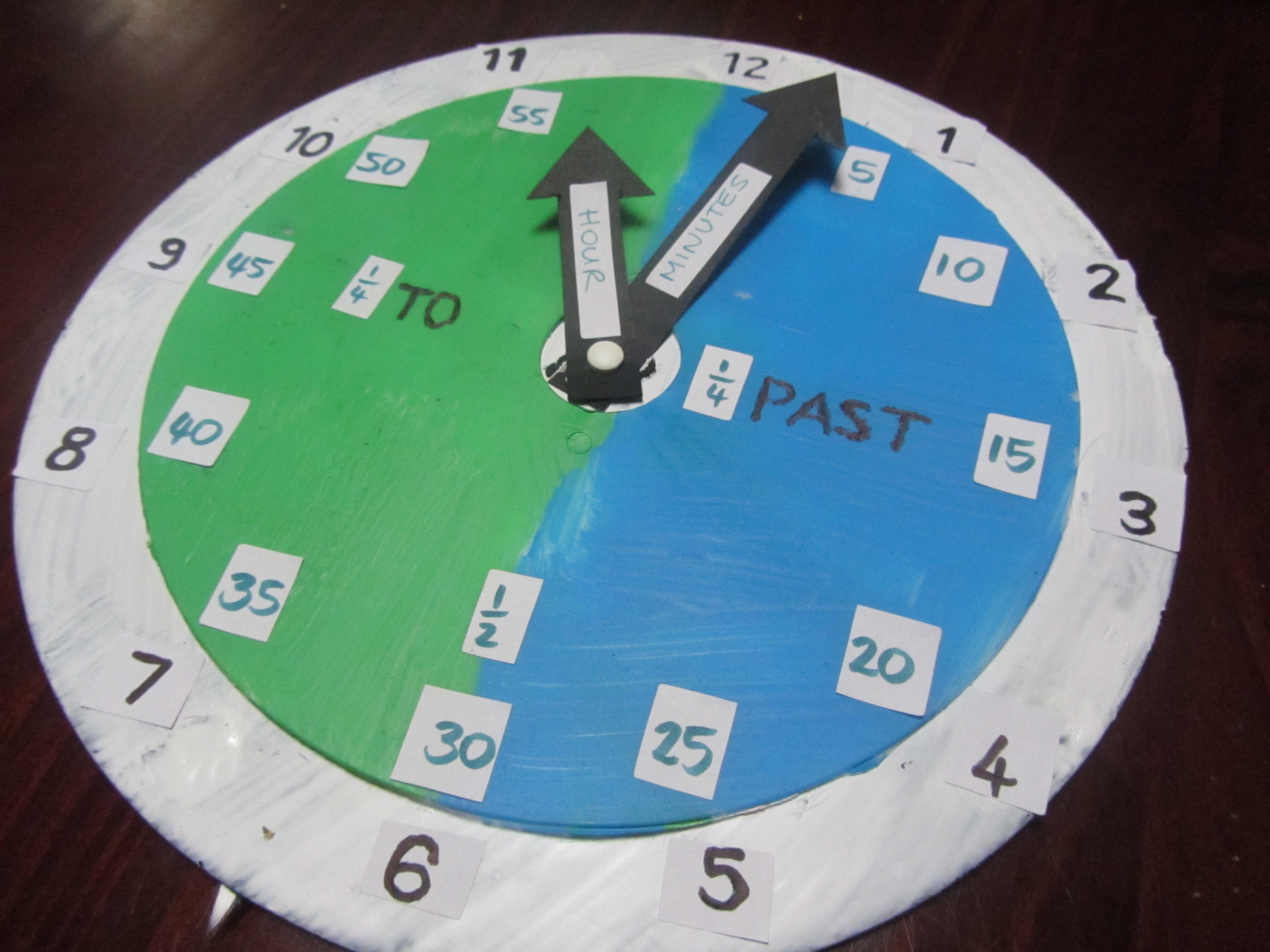 Clock Teaching Tool