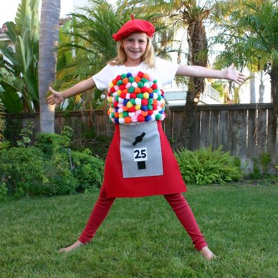 Bubblegum Machine Halloween Costume