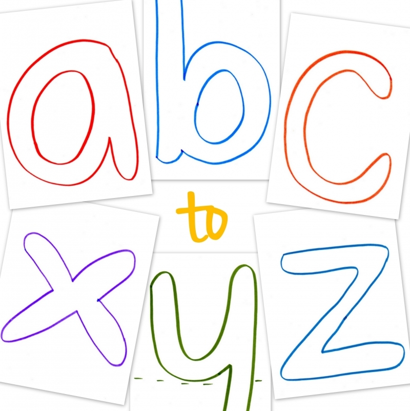 Lowercase ABC Printable Templates