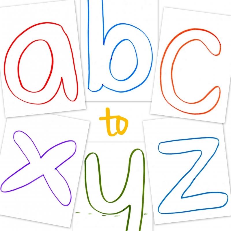Lowercase ABC Printable Templates