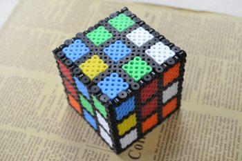 Perler Bead Rubik's Cube