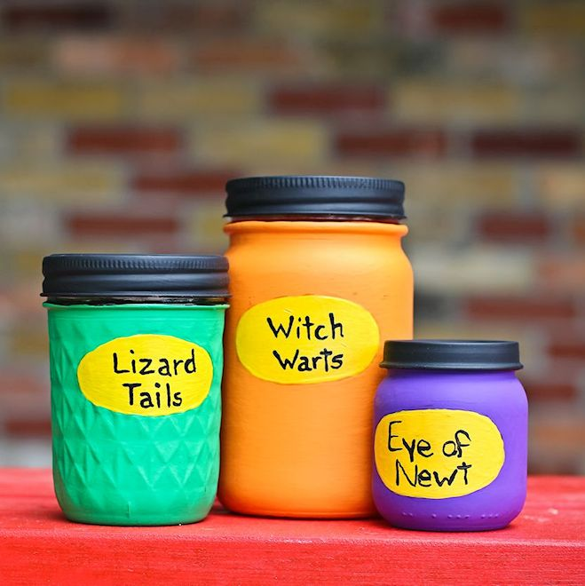 Magic Potion Jars