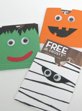 Halloween Treat Envelopes