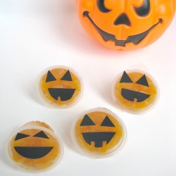 Fruit Cup Jack-o-Lantern Treats