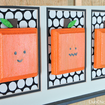 Square Pumpkins Wall Hanging