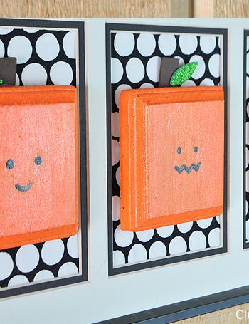 Square Pumpkins Wall Hanging