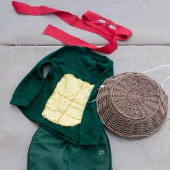 Thrifty Homemade TMNT Costume