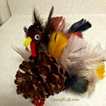 Turkey Pinecone Craft