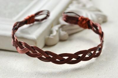 Copper Wire Bracelet Fun Family Crafts
