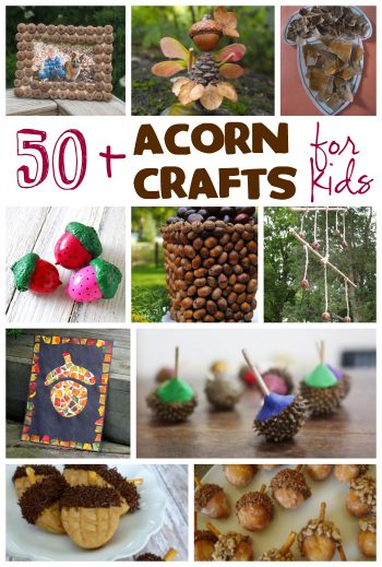 50+ Acorn Crafts for Kids