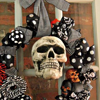 Mr. Boo's Blinged-Out Wreath
