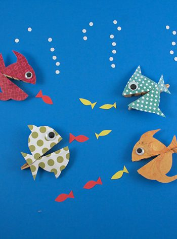 Clothespin Hungry Fish