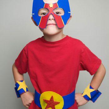 No-Sew Superhero Costume
