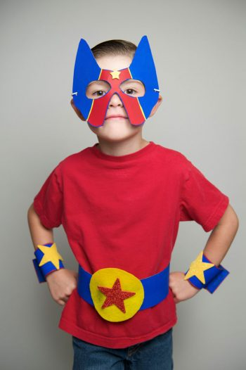 No-Sew Superhero Costume