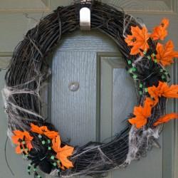 Easy Halloween Wreath