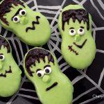 Halloween Frankenstein Cookies