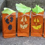 Jack O' Lantern Treat Bags