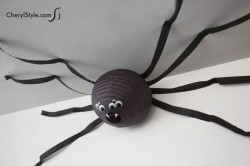 Spider Paper Lantern