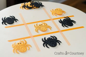 Washi Tape Halloween Tic Tac Toe