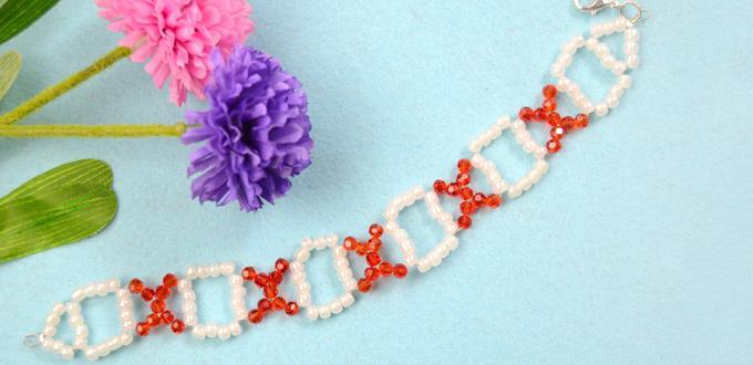 Beaded XOXO Bracelet