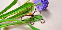 Wire-Wrapped Dragonfly