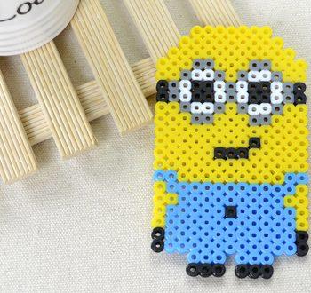 Perler Beads Minion
