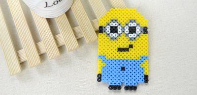 Perler Beads Minion Fun Family Crafts