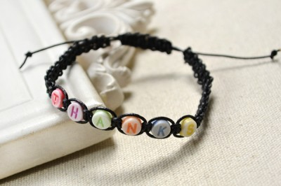 friendship bracelets with beads instructions