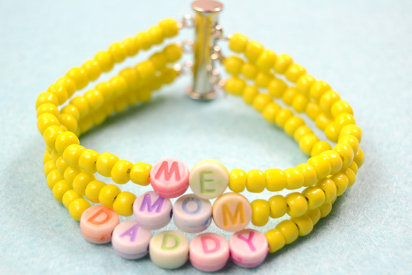 Personalized Family Bracelet