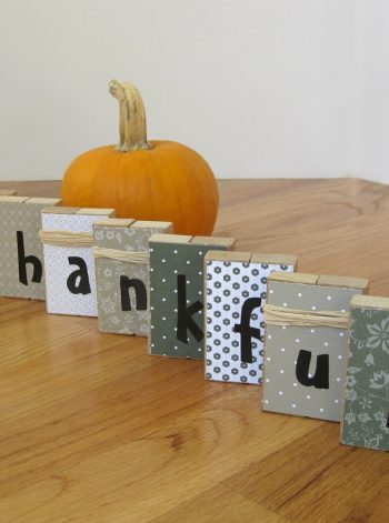 Thankful Blocks