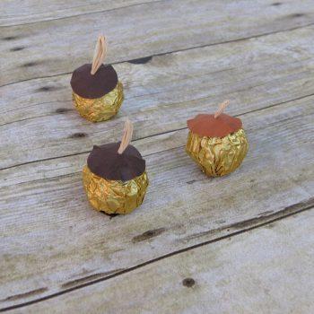 Easy Candy Acorns