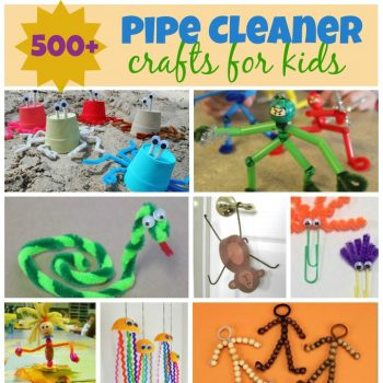 chenille stem crafts for kids