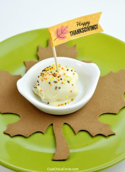 3-Ingredient No-Bake Pumpkin Cookie Truffles