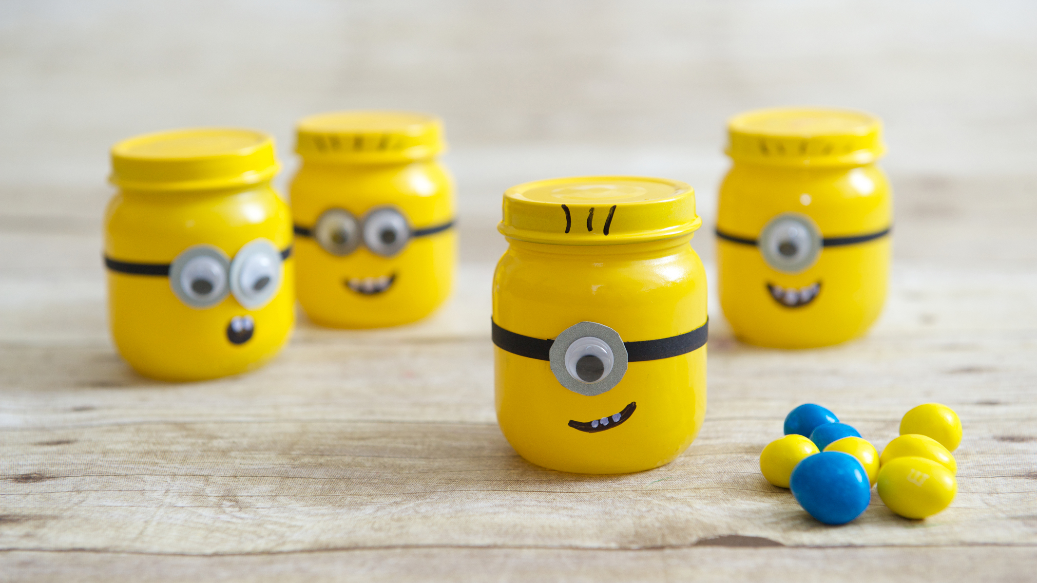Minion Party Favors | Fun Family Crafts