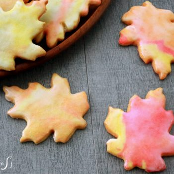Leaf-Shaped Sugar Cookies