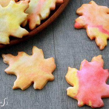 Leaf-Shaped Sugar Cookies
