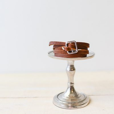 Chic Leather Wrap Bracelet